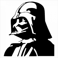Star Wars Darth Vader Vinyl Decal Arrowhead Outdoor Products