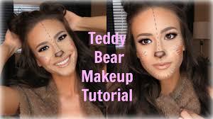 cute teddy bear makeup tutorial