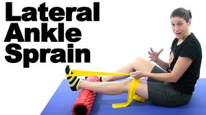sprained ankle stretches exercises