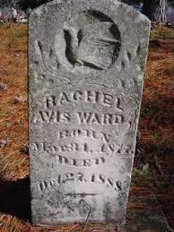 Rachel Avis Ward (1877-1888) - Find A Grave Memorial
