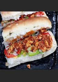 paneer tikka subway sandwich recipe