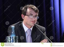 Cristian Hostiuc photo éditorial. Image du speech, conférence ...