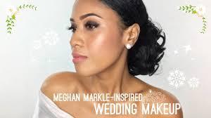 meghan markle inspired bridal makeup