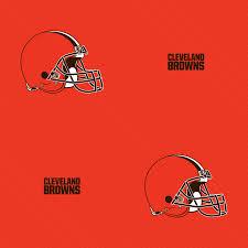cleveland browns line pattern orange