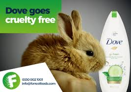 dove joins peta s free list