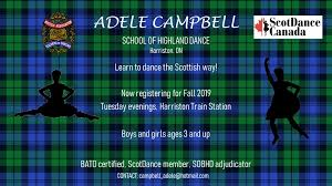 Adele Campbell School of Highland Dance - Home | Facebook