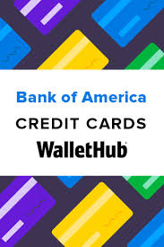 bank of america credit cards read