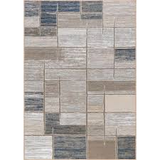 tayse rugs majesty taupe 8 ft x 10 ft