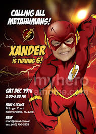 Flash Invitation Flash Birthday Flash Party Ideas Flash Costume
