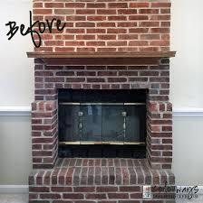 diy easy fireplace makeover idea
