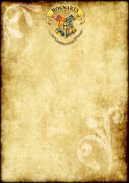 Free Printable Harry Potter Party Blank Parchment A4 Size Con