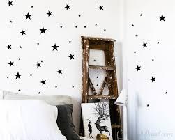 Set Of Stars Wall Decal Nursery Modern Pattern Vinyl Sticker