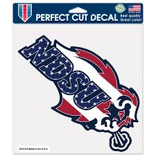 Ndsu Bison Wincraft Patriotic 8 X 8 Color Decal