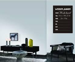 Diy Week Planner Chalkboard Calendar Vinyl Wall Decal Removable Planner Mural For Sale Online