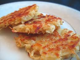 homemade latkes fried potato pancakes