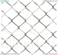 Royalty Free Rf Clipart Illustration Of A Chain Link Fence Background Over White By Arena Creative 88812