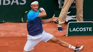 World No. 72 Cecchinato shocks Djokovic to make French Open semis