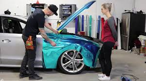 How To Chrome Vinyl Wrap With Details And Corners Youtube
