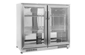 ziegler brown 228l premium island fridge
