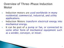 ppt lecture on induction machine