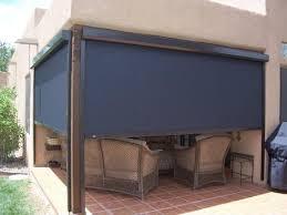 outdoor blinds solar roller shade