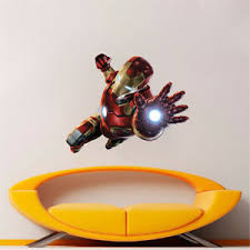 Ironman Wall Decal Avengers Wall Decal Age Of Ultron Decals Super Hero S11 Ebay