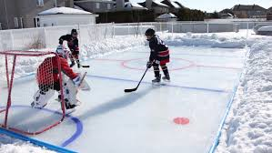 help with building your own rink
