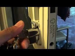 change the security door lock