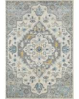 New Bargains on Melva Gray/Ivory Area Rug Bungalow Rose Rug Size: Rectangle  4' x 6'