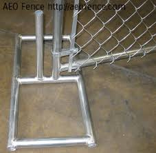 Chain Link Style Aeo Wire Mesh Fence Ornamental Aluminum Fence Temporary Fence Chain Link Fence