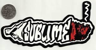 Sublime Long Beach Vinyl Cut New Sticker Decal Rock Music Band Window Car Bumper