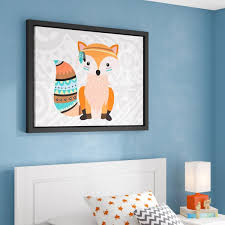Viv Rae Aida Tribal Fox I Framed Art Wayfair