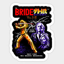 Kill Bill Stickers And Classic Movie Designs Teepublic