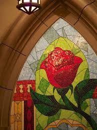 beauty and the beast rose the disney