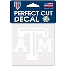Amazon Com Texas A M Aggies Mom Clear Vinyl Decal Car Truck Sticker Atm Tam Everything Else