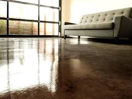 acid sn look to concrete flooring