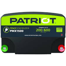 Patriot Patriot Pmx1500 Fence Energizer 15 Joule In The Electric Fence Chargers Department At Lowes Com