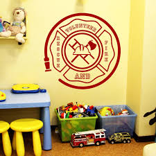 Shop Best Volunteer Fireman Helmet Wall Art Sticker Decal Red Free Shipping On Orders Over 45 Overstock 11179868