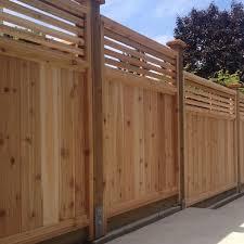 Venetian Cedar Fence Panels Big Red Cedar In 2020 Outdoor Fence Decor Fence Panels Cedar Fence
