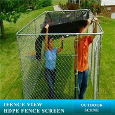 Ifenceview 6x3 To 6x50 Black Shade Cloth Fence Privacy Screen Fence Cover Mesh Net For Construction Site Yard Driveway Garden Pergolas Gazebos Canopy Awning 180 Gsm Uv Protection 6 X 3 Shade Cloth