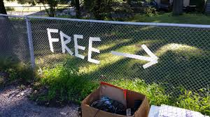 Free Images Grass Fence Street Lawn Old Wall Sign Direction Backyard Box Junk Garden Arrow Outside Trash Boxes Tape Used Take Craigslist Free Image Garage Sale Yard Sale Free Stuff Giveaway