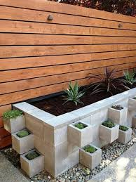 25 Concrete Block Ideas To Try And Enjoy Cheap Diy Outdoor Home Decorating