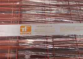 Orange Powder Coated Temporary Construction Fence Panels Od 32mm 41 2mm Fortress Melbourne Wall Thick 1 5mm 2 1m X 2 4m