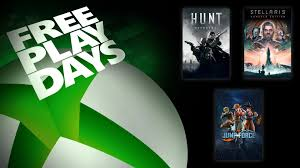 xbox free play days headed up by hunt