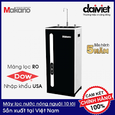 Máy lọc nước RO nóng nguội Makano MKW-42210H hàng chính hãng, bảo hành 5  năm (10 lõi lọc) - 5,529,000