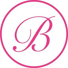 Circle Monogram Letter B Initial Vinyl Car Decal Window Sticker Lettering Bumper Ebay