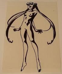 Sailor Moon Naked Hentai Manga Die Cut Vinyl Sticker Decal Blasted Rat