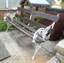 victorian cast iron garden bench aegm