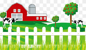 Two Cows Near Barn House Art Milk Cattle Poster Advertising Farm Cow Fence Animals Fence Home Fencing Png Pngwing