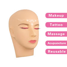 manikin cosmetology make up practice